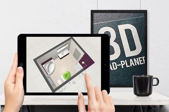 3D Bad-Planer