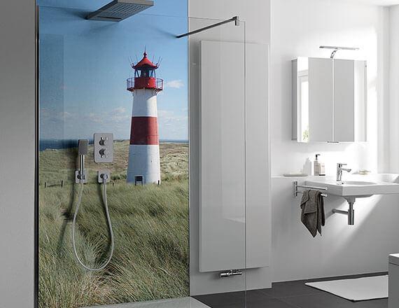 Der Leuchtturm An Der Nordsee Oder Lieber Ein Anderes Foto? Mit RenoDeco  Haben Sie Die Wahl.